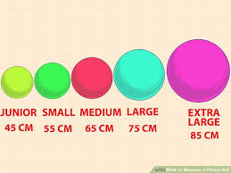 Exercise Ball Size Chart 3 Ways To Measure A Fitness Ball Wikihow