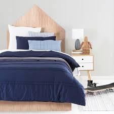 details about jackson classic dark navy blue teen double bed quilt doona duvet cover set new