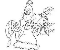 Small Picture Coloring Pages Coloring Pages Dr Seuss Grinch Stole Christmass
