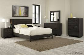 South Shore Fynn Full Size Platform Bedroom Set