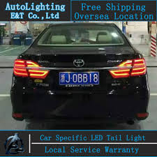 2014 Camry Light Bulb Size Car Styling Led Tail Lamp For Toyota Camry Tail Lights 2014