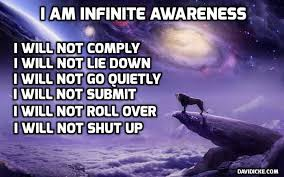 Image result for icke graphic i am infinite awareness