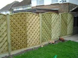 full image for image of decorative wood fencing metal fence panels for gardens fence panels for