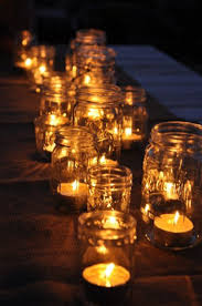 Decorate Jar Candles Interesting and Creative Wedding Decoration Ideas Diy party 13
