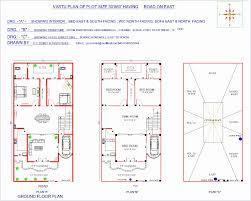 30 x 60 house plans north facing with vastu unique south plot