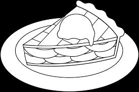 apple pie clip art black white. Beautiful Clip Banner Royalty Free Stock Clipart Apple Pie Line Art Clip Intended Apple Pie Clip Art Black White P