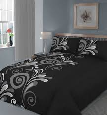 20 Beautiful Black Bed Linens Home Design Lover