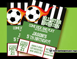 Soccer Party Invite Soccer Party Invitation For Boys Personalized
