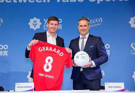 Yabo Sports appoints Steven Gerrard as ambassador | SportBusiness