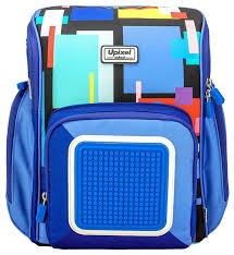 Купить Upixel Рюкзак Funny Square <b>School</b> Bag <b>WY</b>-<b>U18</b>, синий по ...
