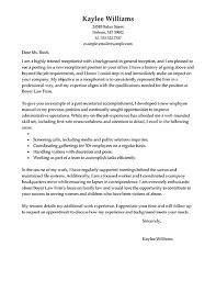 Dazzling Medical Receptionist Cover Letter    Cover Letter Medical Clerk