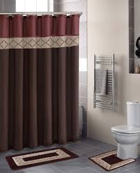 brown bathroom accessories. Excelent Red And Brown Bathroom Accessories Image Ideas Rug Sets Home Dynamix Designer Bath Shower Curtain
