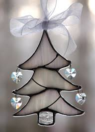 Stained Glass Christmas Ornament Patterns Cool Decorating Design