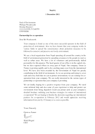 Types Of Business Letter With Examples Formal Business Letter