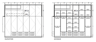 interior design bedroom drawings. Master Bedroom Cabinetry Drawings, Two Birds Laneway House Interior Design Drawings