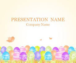 Easter Powerpoint Templates Free Merry Christmas And Happy