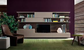 Small Picture Contemporary TV wall unit wooden lacquered wood ONLINE by