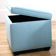 light blue ottoman. Light Blue Storage Ottoman . M