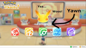 Pokemon Let's Go Pikachu Ep 1 Yawn and first gym!! - YouTube
