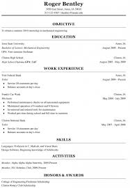 001 Template Ideas High School Student Resume Templates Microsoft