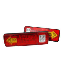 Drop Lights Automotive Us 12 76 11 Off Car Styling 2pcs 19 Led Car Truck Trailer Rear Tail Stop Turn Light Indicator Lamp 12v Drop Shipping In Truck Light System From
