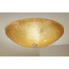 kolarz murano glass ceiling light amber