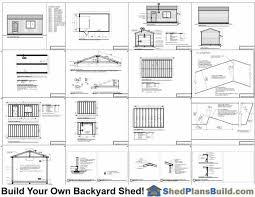 garage door plans12x20 Garage Door Storage Shed Plans