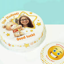 Good Luck Cake Designs Wish Your Student Good Luck