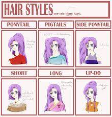 Hair Style Anime oc kyuna hairstyle meme by otanimanga on deviantart 5835 by wearticles.com