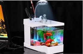 office aquarium. home and office gift 3 in 1 mini fish tank usb aquarium manufacturechina