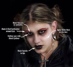 gothic makeup monique s handy guide to making yourself look dead y the gothic ezine