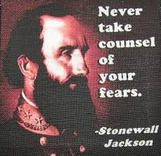 Stonewall Jackson Quotes Best Items Similar To STONEWALL JACKSON QUOTE Printed Patch Sew On