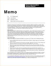 Sample Of Memoranda Memo Format Headings Examples And Forms