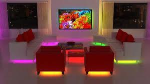 Interior led lighting Marine Modern Interior Design With Led Lights Home Design Kitchen Decor Ideas Modern Interior Design Ideas To Brighten Up Rooms With Led Lighting