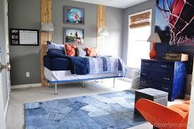 simple boys bedroom. Diy Simple Boys Bed Teen Boy Room Makeover, Cleverly Inspired @remodelaholic Bedroom