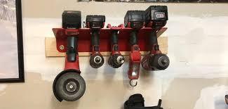 cordless power tool organization