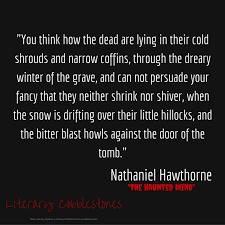 Nathaniel Hawthorne Quotes Unique October 48 Nathaniel Hawthorne Literary Cobblestones