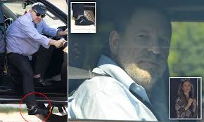 PICTURED: Harvey Weinstein hands over daughter India Pearl, 8, to estranged  wife Georgina Chapman | Daily Mail Online