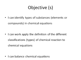 9 objective s i can identify types