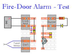 fire door alarm testing your circuit details of how to prepare the fire door alarm for testing