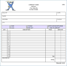 Free Printable Service Invoice Forms | Fapacftm.org