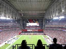 Cardinals Stadium Seating Chart Arizona Arizona Cardinals Ring Of Honor Corners Endzone