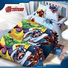 <b>Постельное белье Марвел</b> (<b>Marvel</b>) Мстители 1.5-спальное (3 ...