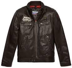 blauer usa rider boston 35 leather jacket men jackets fashion brown blauer on