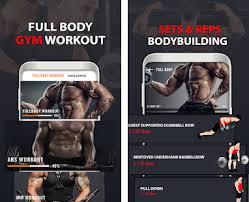 workoutapps gym workout fitness bodybuilding