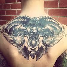 Tetování Aries Výběr Cílevědomého A Vytrvalého