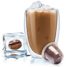 Made with cold brew coffee, homemade vanilla syrup, milk, and ice. Making Iced Coffee With Your Nespresso Machine Mugpods Blog
