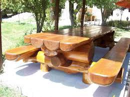 Album Tables Jardin Rondins Rondinsdesbois Fr Cr Ations En
