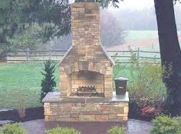 prefab outdoor fireplace kit outdoor fireplace kits marvels in modular masonry