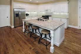 kitchen island countertop support legs